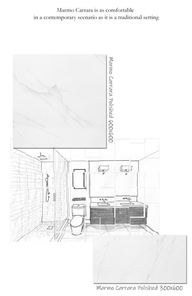 Marmo Carrara polished 04