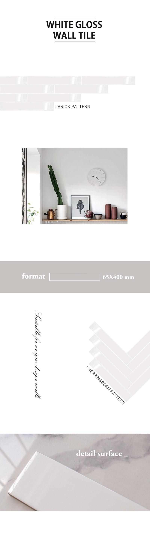 White Wall Gloss 65x400 web page